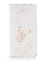 Для Кошелек / Бумажник для карт / Флип Кейс для Чехол Кейс для Один цвет Мягкий Искусственная кожа SamsungJ5 (2016) / J5 / J3 / J1 Mini /