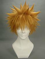 смерть Kurosaki Ichigo желтый вертикальный короткий стиль косплей парик