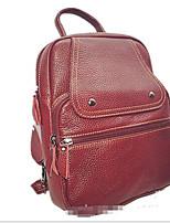 Women PU Casual Backpack Blue / Red / Black