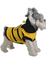 Cat / Dog Costume Yellow Dog Clothes Summer / Spring/Fall Animal Cute / Cosplay