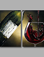 Stretched (Ready to hang) Hand-Painted Oil Painting 100cmx80cm Canvas Wall Art Modern Still Life
