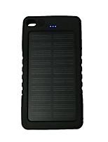 8000mAhbanco do poder de bateria externa Recarga com Energia Solar / Lanterna 8000 Output :1000mA Recarga com Energia Solar / Lanterna