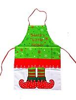 Frohe Weihnachten Schürzen Weihnachten kochen Kleid Santa Claus Kleidung Küche Schürzen Abendessen Weihnachtsdekoration
