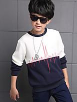 Boy Casual/Daily Print Hoodie & Sweatshirt,Cotton / Rayon Winter / Spring / Fall Long Sleeve Regular