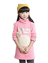 Girl's Casual/Daily Animal Print Hoodie & SweatshirtCotton / Rayon Winter / Spring / Fall Black / Pink / Gray