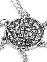 Ожерелье Без камня Ожерелья с подвесками Бижутерия Для вечеринок / Повседневные Уникальный дизайн Сплав Медный 1шт Подарок