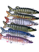 1 pcs Hard Bait / Fishing Lures Hard Bait Random Colors 20 g Ounce mm inch,Hard Plastic Bait Casting