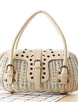 Women Straw Casual / Outdoor Shoulder Bag