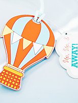 Marcadores e Abre Cartas / Marcadores de Bagagem / Para uso de Escritório / Presentes para Festa de Chá(Amarelo) -Tema Praia / Tema