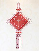 Модерн Домики Настенные часы,Прочее Акрил / Стекло / Металл 57*100cm В помещении Часы