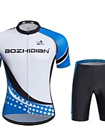 Sports Cycling Jersey with Shorts Unisex Short SleeveBreathable / Quick Dry / Windproof / Anatomic Design  Breathability