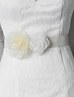 Satin Wedding / Party/ Evening / Dailywear Sash-Floral Women's 98 ½in(250cm) Floral