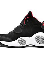 Femme-Décontracté / Sport-Noir / Rouge / Blanc-Talon Plat-Bottes à la Mode-Chaussures d'Athlétisme-Daim