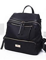 Casual Backpack Women Nylon Purple Red Black