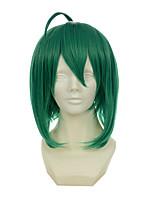 la dimension forteresse super-macross ranka lee modélisation spéciale verte mélangée Perruques perruques synthétiques perruques de costume