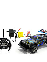Car Racing 566-111 110 Brush Electric RC Car / 2.4G Blue Ready-To-Go Remote Control Car