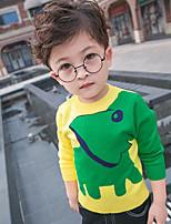 Boy's Casual/Daily Print Sweater & CardiganCotton Winter / Fall Blue / Yellow