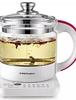 Royalstar Проводной Others Glass health pot electric fried boil tea pot Серебристый / Коричневый