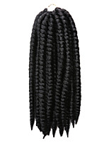 Havana Twist Braids Hair Braids 14Inch 18 Colors Kanekalon 12 Strands 80g gram Hair Extensions