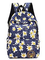 Для женщин Полотно На каждый день / Для отдыха на природе Рюкзак Розовый / Фиолетовый / Синий / Зеленый