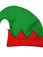 1pc rouge vert chapeau de clown costume de halloween