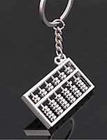 Creative Gift Six Abacus Abacus Keychain Personality Simulation Keychain Car Keychain