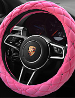 Diamond Set Auger Bubbles Winter Plush Car Steering Wheel Covers