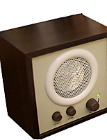 Wood With The Function Of The Stereo Radio