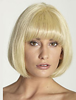 Synthetic Wigs Blonde Short Cheap Bob Wigs Heat Resistant For Afro Women