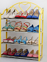 Пластик-В любом месте-Полка / крючки для обуви(Синий / Желтый / Фиолетовый / Красный)