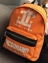 Women Oxford Cloth Sports / Outdoor Backpack Blue / Orange