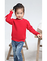 Girl's Casual/Daily Solid Sweater & CardiganWool Winter / Spring / Fall Green / Red