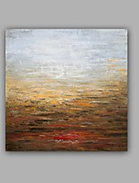 Hand-Painted Abstract / Landscape 100% Hang-Painted Oil PaintingModern / Classic One Panel Canvas Oil Painting For Home Decoration