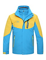 Hiking Softshell Jacket Kid's Waterproof / Thermal / Warm / Windproof / Wearable Fall/Autumn / Winter Terylene Red / Blue / Sky Blue
