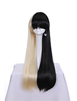 Long Wavy Ombre Color Ladies Synthetic Hair Wig