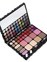 72 Palette de Fard à Paupières Lueur Fard à paupières palette Crème Normal Maquillage Quotidien