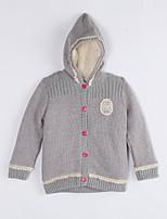 Girl Casual/Daily Print Sweater & Cardigan,Cotton Fall