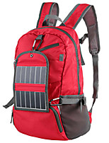 30L L Backpack / Hiking & Backpacking Pack / Rucksack Camping & Hiking / Climbing Outdoor Wearable / Solar Panel Red Nylon BY