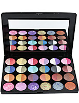 24 Lidschattenpalette Schimmer Lidschatten-Palette Cream Normal Alltag Make-up