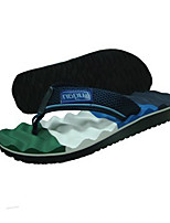 Men's Slippers & Flip-Flops Spring / Summer / Fall Scuff Synthetic Casual Flat Heel Others Black / Blue / Burgundy Others