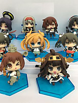 Kantai Collection Cosplay PVC 6cm Figures Anime Action Jouets modèle Doll Toy