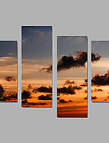 Canvas Set Landscape Modern,Four Panels Canvas Any Shape Print Wall Decor For Home Decoration