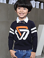 Boy's Casual/Daily Solid Sweater & CardiganWool Winter / Spring / Fall Black / Red