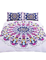 BeddingOutlet Swirl Bedding Set Blue Black Twill Bohemian Bedclothes Multi Sizes 3pcs Stylish Duvet Cover