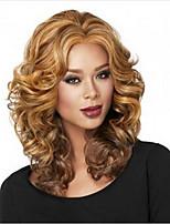 роза сеть женские парики волос цвет смешивания парик ТЕРМОСТОЙКАЯ ломбера вьющиеся волосы синтетические парики