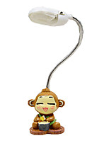 2016 New Naughty Cute Monkey Nightlight Creative Flexible Mini Lamp Student Bedside Lamp