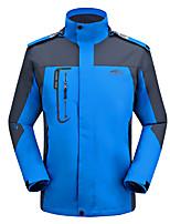 Wandern Softshell Jacken Herrn Wasserdicht / warm halten / Windundurchlässig / UV-resistant / Komfortabel Frühling / Herbst / Winter
