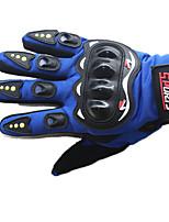 monter des gants de doigts pleins (bleu)