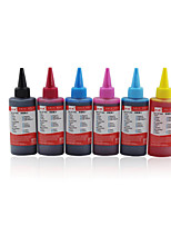 Epson Printer Compatible Black Red Yellow Blue Light Red Light Blue100ml/Pcs
