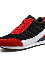 Damen-Sneaker-Outddor Lässig Sportlich-Tüll-Plateau-Komfort-Blau Rot Grau